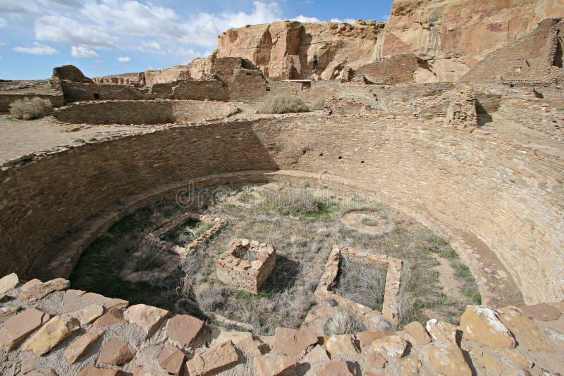pueblo kiva παλαμίδων στοκ φωτογραφίες
