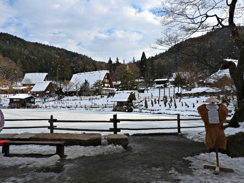 Pueblo popular de Hida, Takayama, Japón fotos de archivo libres de regalías