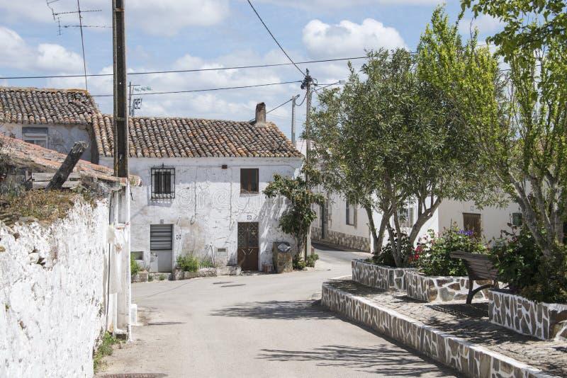 Pueblo portugese típico fotografía de archivo