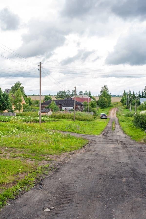 Download Pueblo ruso imagen de archivo. Imagen de establecimiento - 64212959