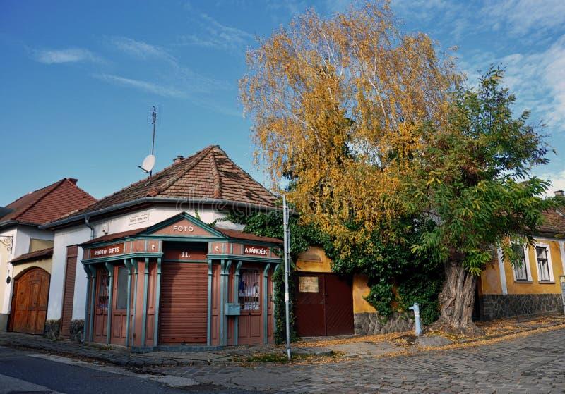 Pueblo Szentendre en Hungría imagen de archivo