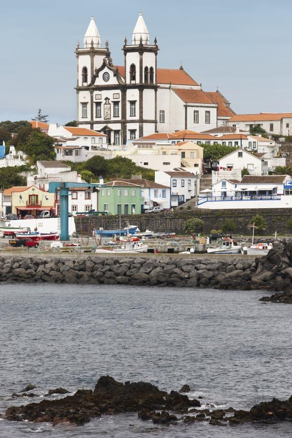 Pueblo tradicional de Azores en Terceira Sao Mateus da Calheta P fotografía de archivo