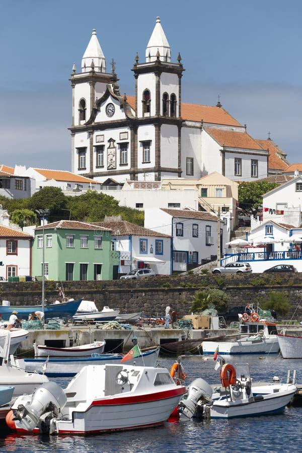 Pueblo tradicional de Azores en Terceira Sao Mateus da Calheta P imagenes de archivo