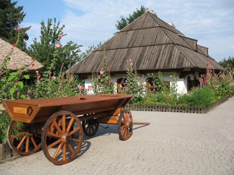 Pueblo ucraniano fotografía de archivo