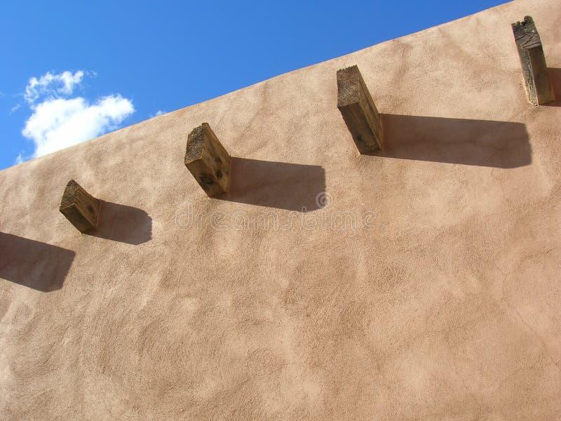 Pueblo Wall royalty free stock photo