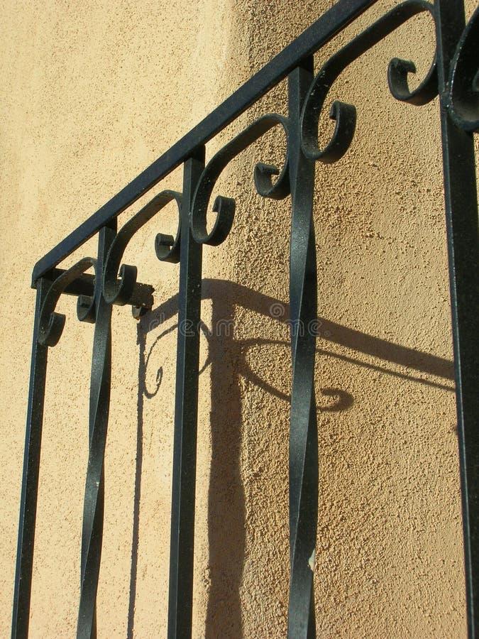 Pueblo-Wand stockfotografie