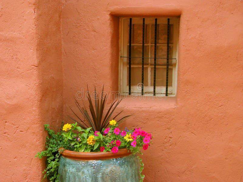 Pueblo Window stock photography