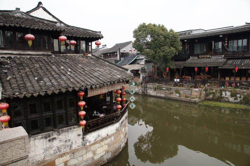 Pueblo Xitang del agua fotos de archivo libres de regalías