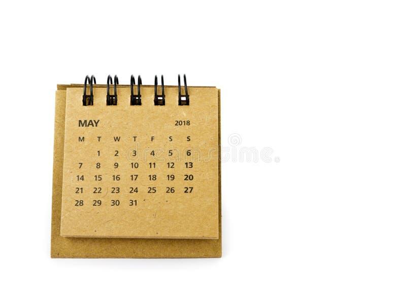 pueda Hoja del calendario en blanco foto de archivo libre de regalías