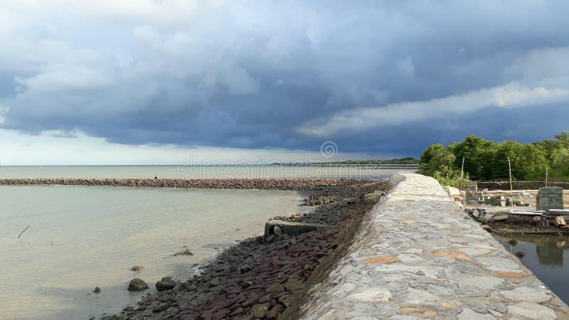 Puede la playa del gio imagenes de archivo