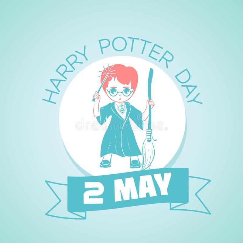 2 pueden Harry Potter Day libre illustration