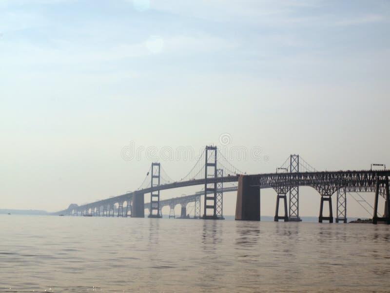 Puente 2010d de la bahía de Chesapeake fotos de archivo