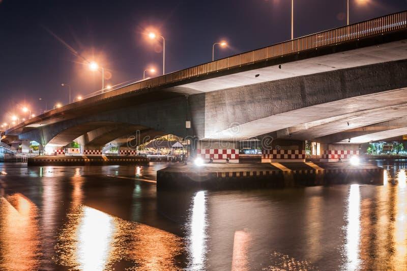 Download Puente foto de archivo. Imagen de recorrido, noche, señal - 41905586