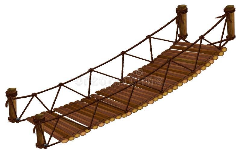 Puente ilustración del vector