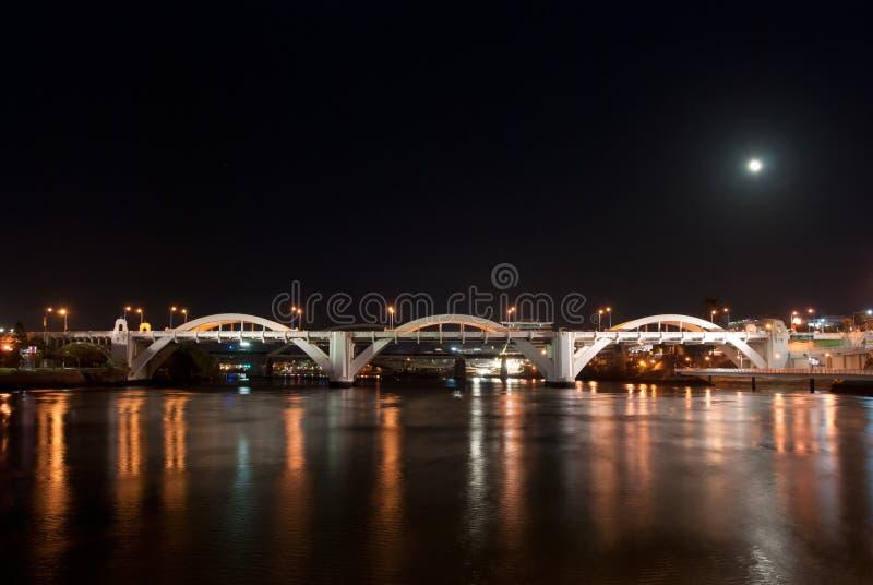 Puente alegre Brisbane, Australia de Guillermo fotos de archivo libres de regalías