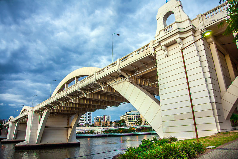 Puente alegre Brisbane Australia de Guillermo fotografía de archivo