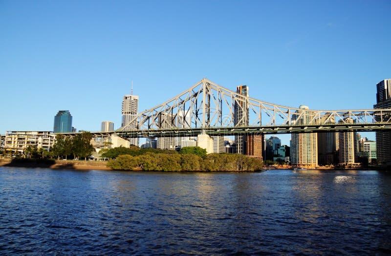 Puente Brisbane Australia de la historia fotografía de archivo