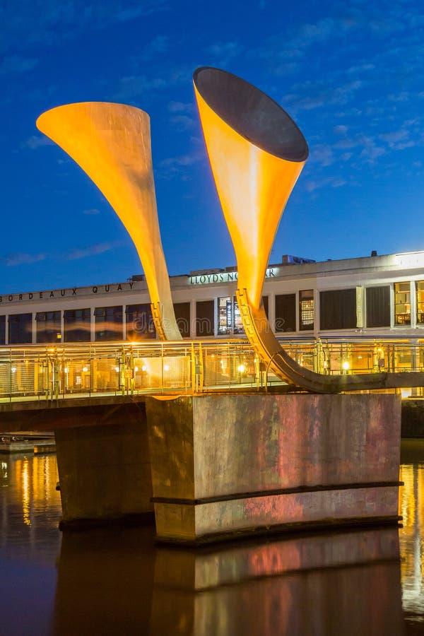 Puente Bristol de Peros imagen de archivo libre de regalías