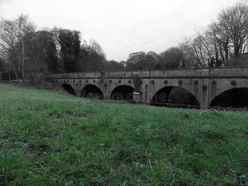 Puente británico viejo fotos de archivo libres de regalías