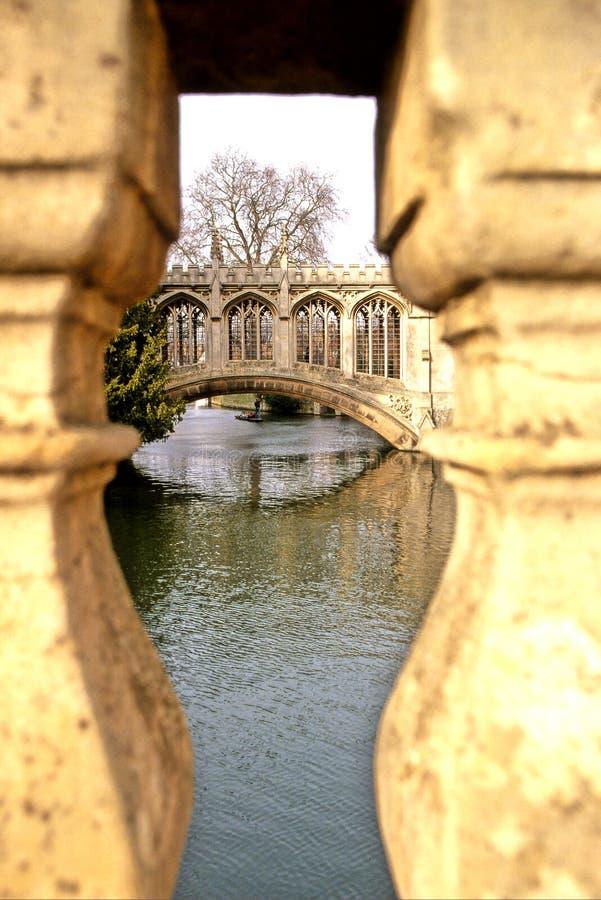 Puente Cambridge fotos de archivo libres de regalías