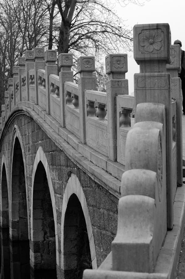 Puente chino imagenes de archivo