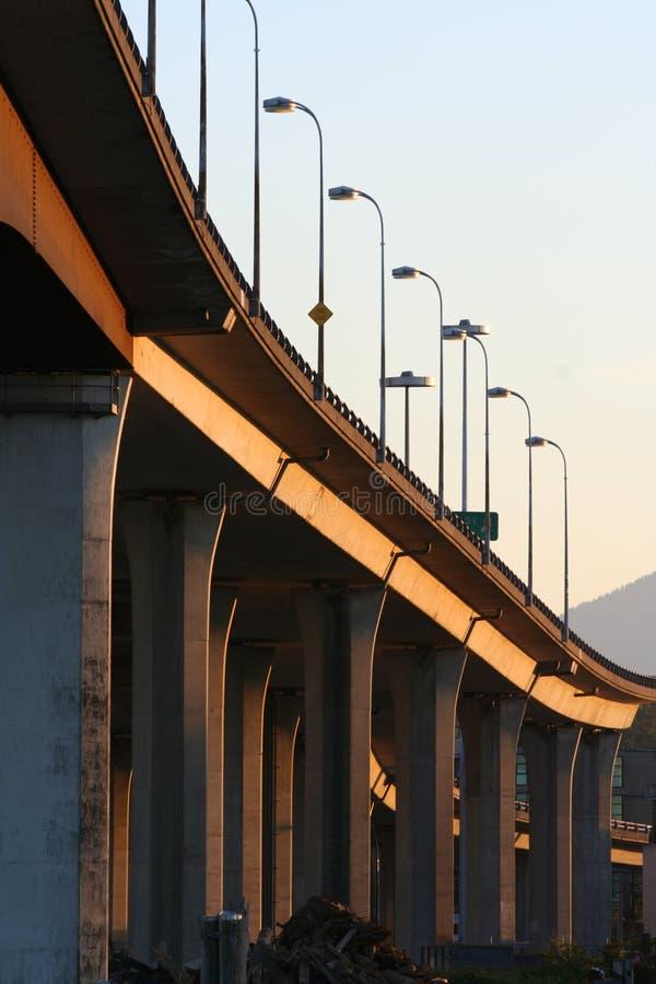 Puente concreto fotografía de archivo libre de regalías