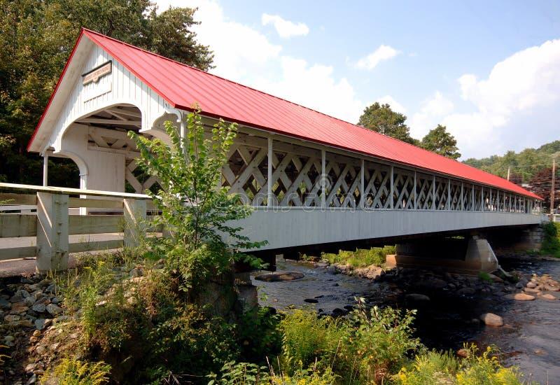 Puente cubierto de Ashuelot fotografía de archivo libre de regalías