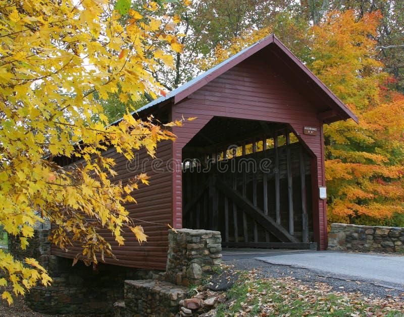 Puente cubierto de Roddy foto de archivo libre de regalías