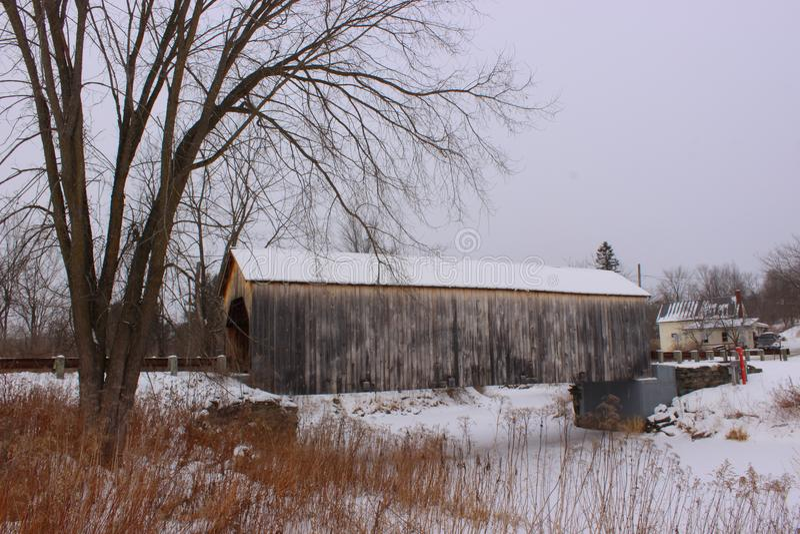 Puente cubierto del este de Fairfield fotos de archivo libres de regalías