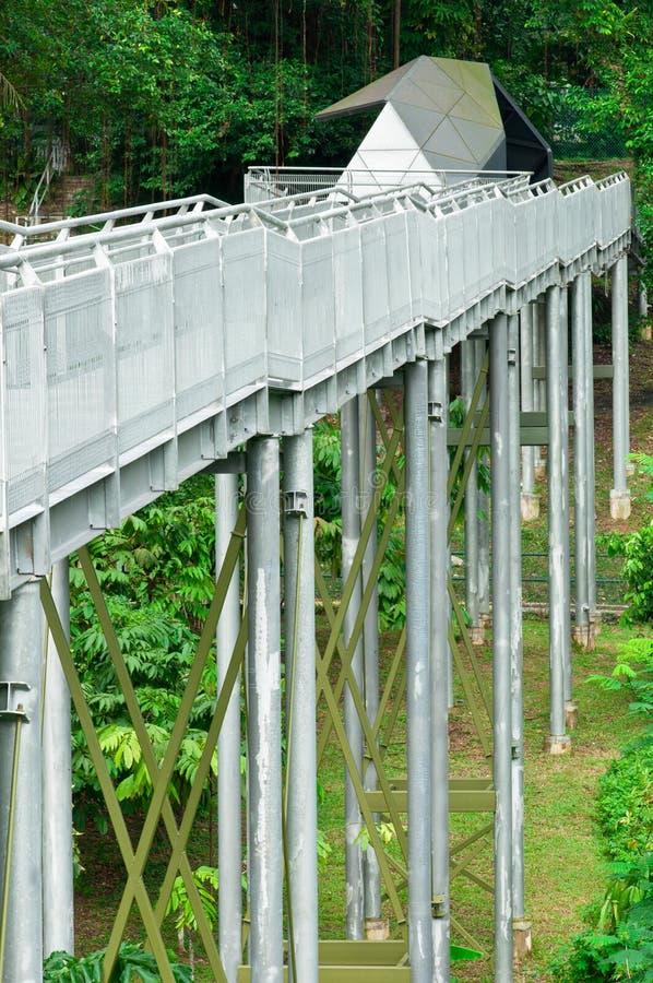 Puente de acero alto foto de archivo