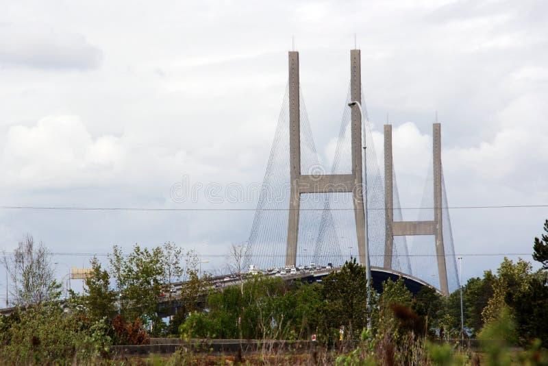 Puente de Alex Fraser fotos de archivo
