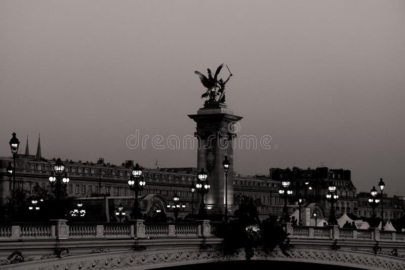 Puente de Alexander III fotos de archivo libres de regalías