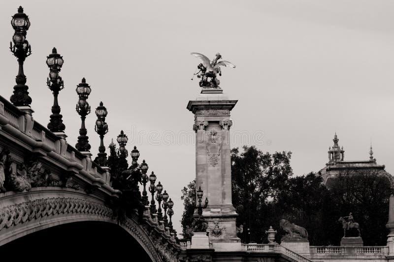 Puente de Alexander III fotos de archivo