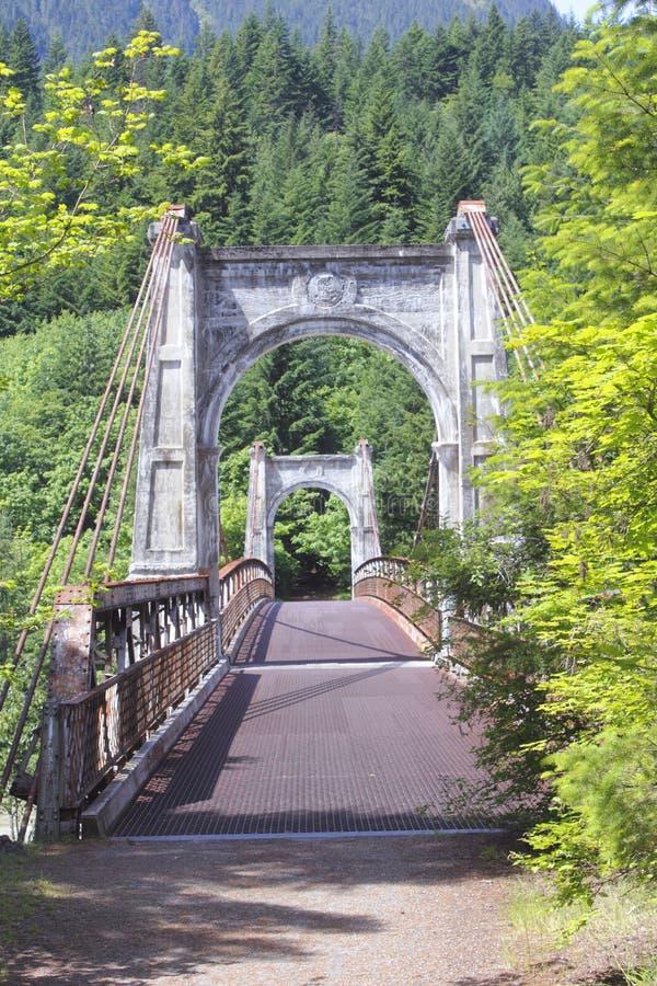 Puente de Alexandra fotografía de archivo