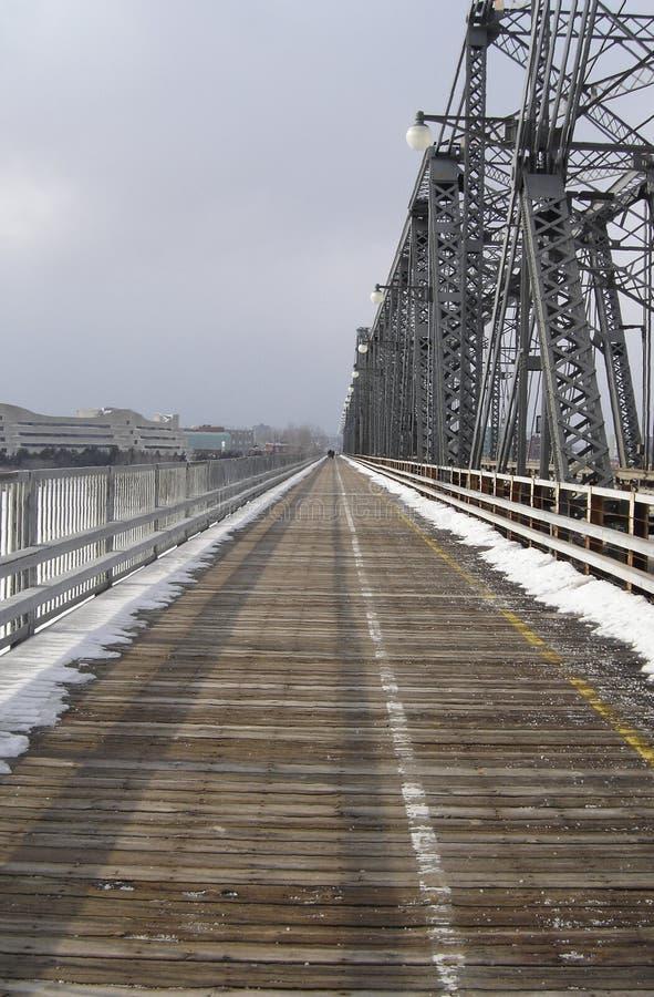 Puente de Alexandra fotos de archivo