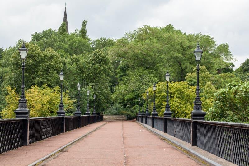 Puente de Armstrong fotografía de archivo