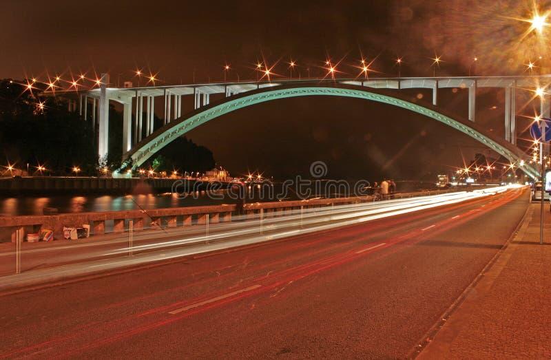Puente de Arrabida imagenes de archivo