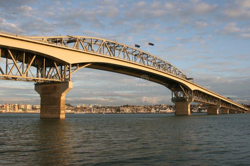 Puente de Auckland Habour imágenes de archivo libres de regalías