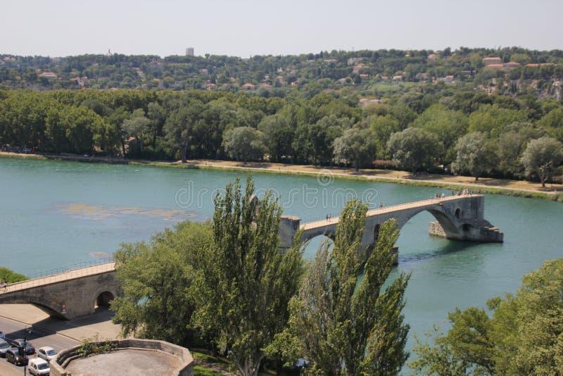 Puente de Aviñón en Francia fotografía de archivo libre de regalías