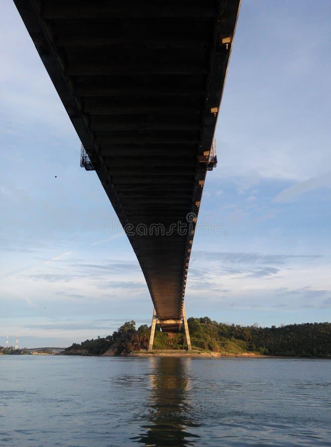 Puente de Barelang foto de archivo libre de regalías