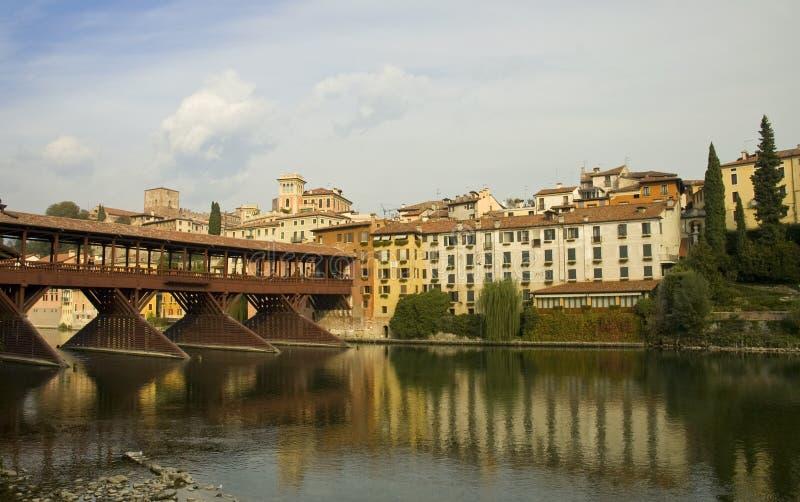 Puente de Bassano del Grappa imagen de archivo libre de regalías