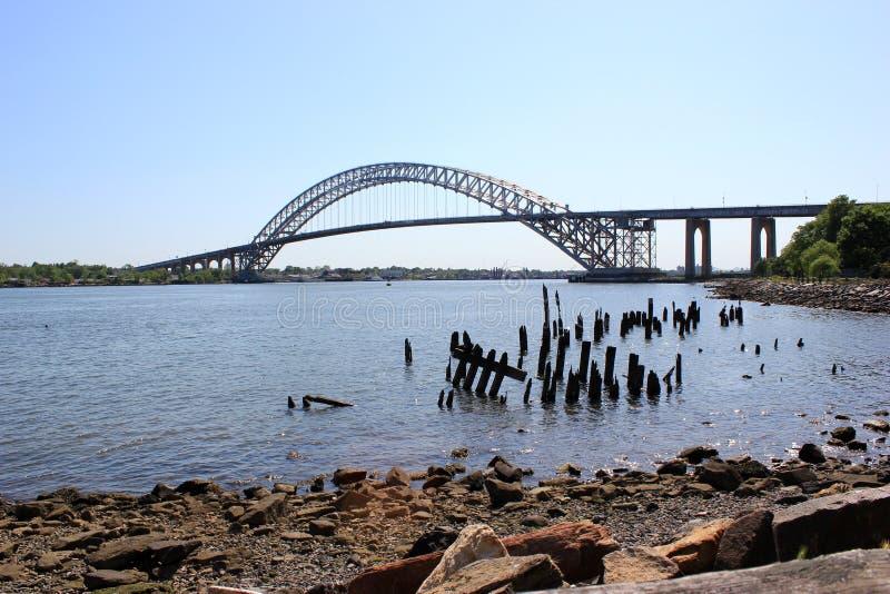 Puente de Bayonne fotos de archivo