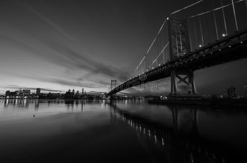 Puente #1 de Benjamin Franklin imagenes de archivo