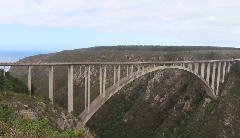 Puente de Bloukrans foto de archivo libre de regalías