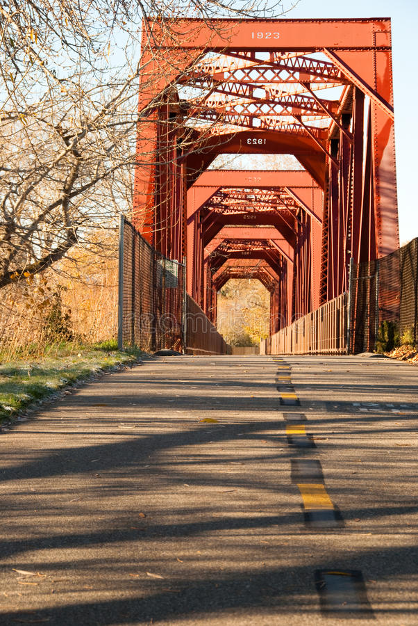 Puente de Boise Idaho fotografía de archivo