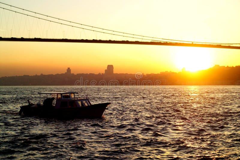 Puente de Bosphorus imagen de archivo libre de regalías