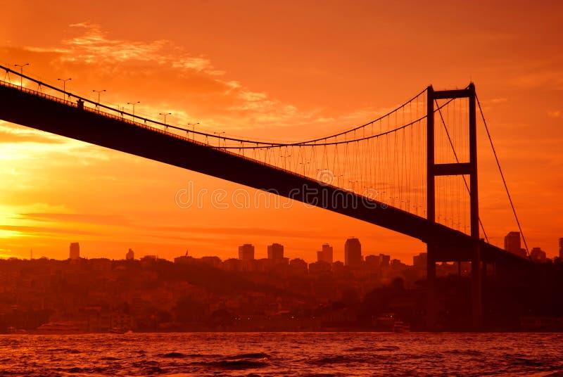 Download Puente De Bosphorus En Estambul En La Puesta Del Sol Imagen de archivo - Imagen de cielo, configuración: 41920119