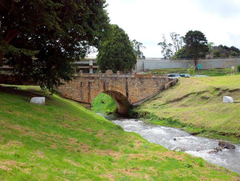 Puente de Boyaca image stock