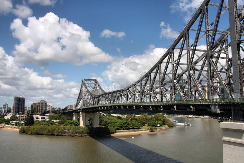 Puente de Brisbane foto de archivo