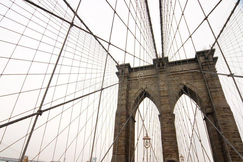 Puente de Brooklyn 3 fotografía de archivo libre de regalías